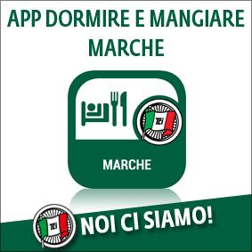 APP DORMIRE E MANGIARE MARCHE